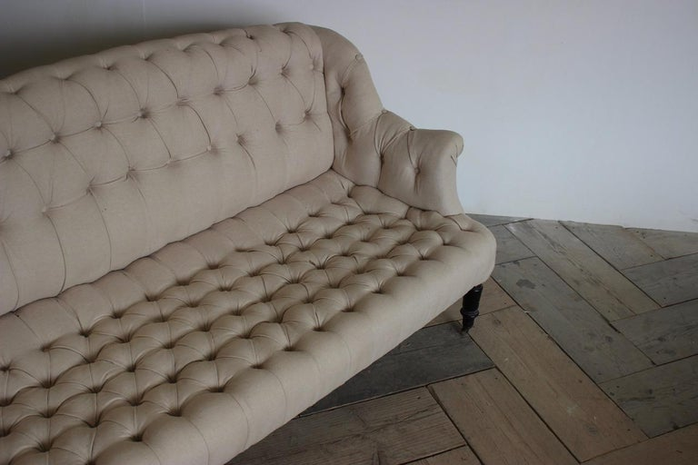 19th Century French Napoleon III Sofa In Good Condition For Sale In Gloucestershire, GB