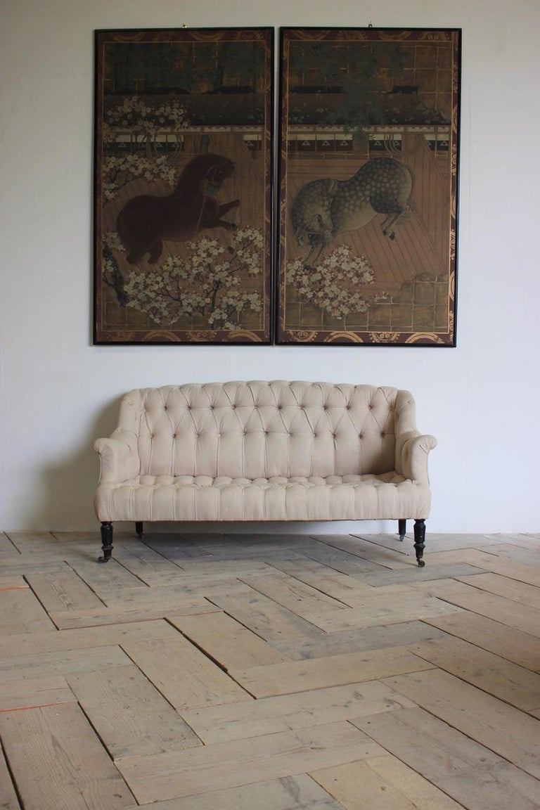 19th Century French Napoleon III Sofa For Sale 1