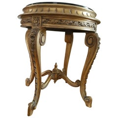 "19th Century Gorgeous Tea Table Regency Style, Italy 1980, ""Copy D'Ancienne"""