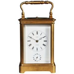 19th Century Quarter-Striking Carriage Clock by Leroy, Paris