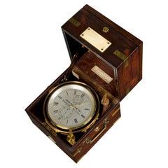 19th Century 2-Day Marine Chronometer by John Bliss & Co, New York