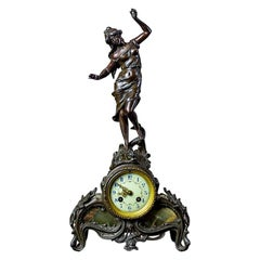 19th Century A.D. Mougin Mantel Clock