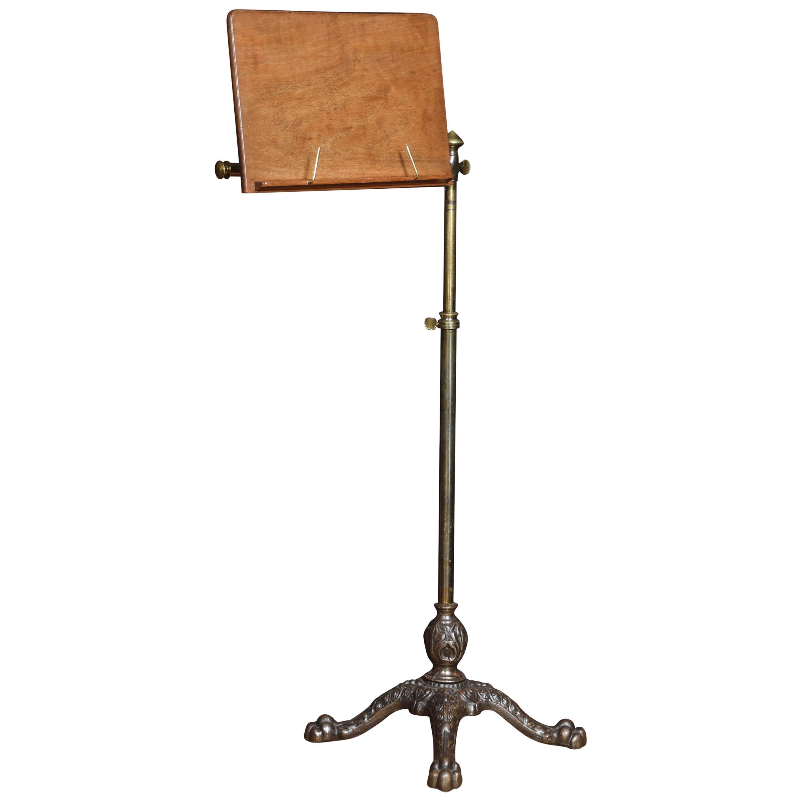 19th Century Adjustable Music Stand