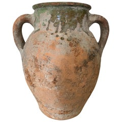19th Century Aegean Sea Earthenware Jar