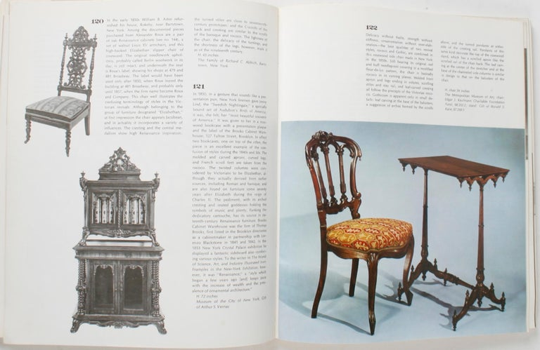 19th century America furniture and other decorative arts, by Berry B. Tracy (Introduction), Marilynn Johnson (Author), Marvin D. Schwartz (Author). Paperback, Metropolitan Museum of Art / New York Graphic Society. 1970 An exhibition in celebration