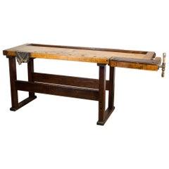 19th Century American Carpenter's Workbench, circa 1880