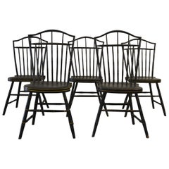 19th Century American Chairs S/5