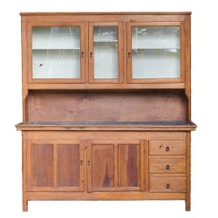 19th Century American Dry Sink Hutch