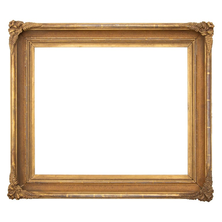 19th Century American Gilt Frame For Sale