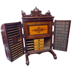 19th century American Patented Wooten Desk with Provenance