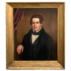 19th Century American Portrait of a Handsome NY Bachelor, Norman Pearl