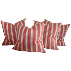 19th Century American 'Rare' Ticking Stripe Collection, 4
