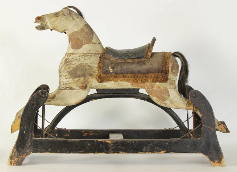 19th Century American Rocking Horse For Sale 2