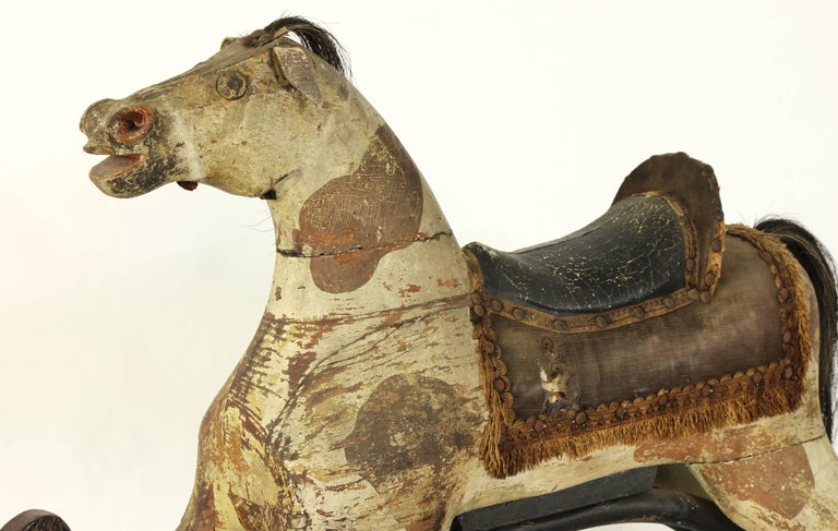19th Century American Rocking Horse For Sale 4