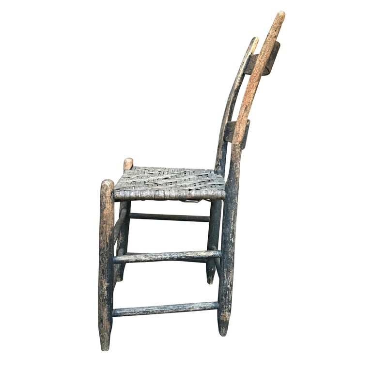 Country 19th Century American Side Chair For Sale