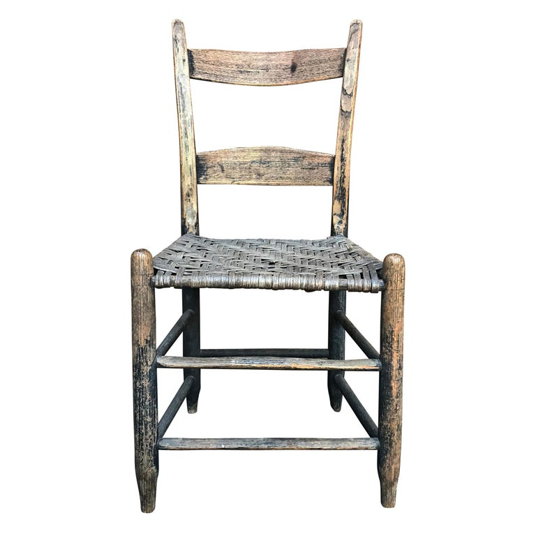 19th Century American Side Chair For Sale