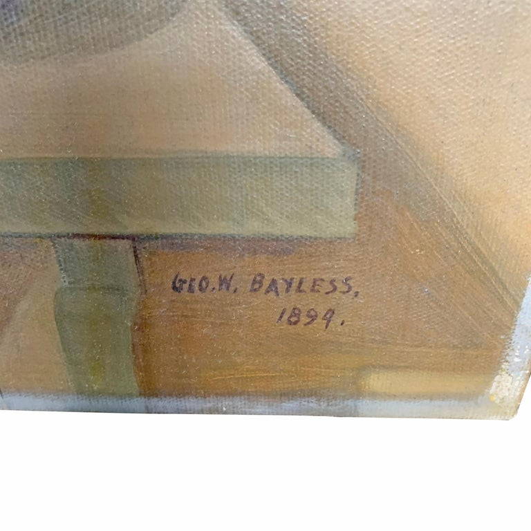19th Century American Trompe l'Oeil Hunt Painting  For Sale 2