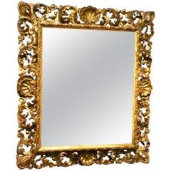 19th Century an Empire Period Giltwood Mirror