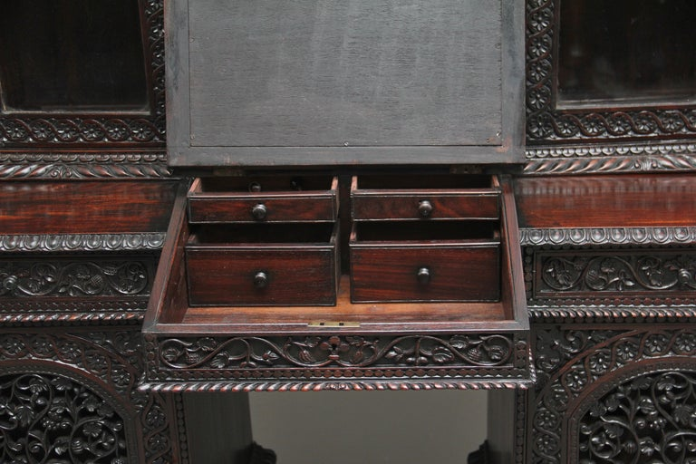 19th Century Anglo-Indian bookcase For Sale 4
