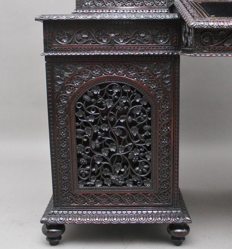 19th Century Anglo-Indian bookcase For Sale 7