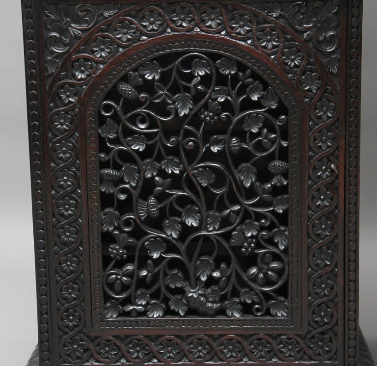 19th Century Anglo-Indian bookcase For Sale 8