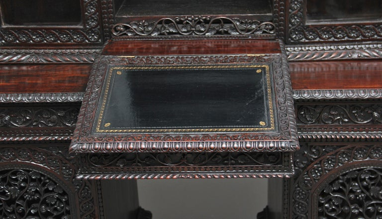19th Century Anglo-Indian bookcase For Sale 2