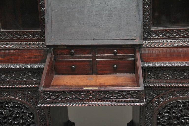 19th Century Anglo-Indian bookcase For Sale 3