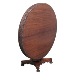 19th Century Anglo Indian Carved Centre Table