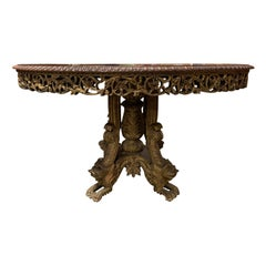 Anglo-Indian Dining Room Tables
