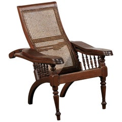 19th Century Anglo-Indian Planters Chair, Metamorphic