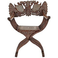 19th Century Anglo-Indian Rosewood Armchair