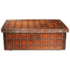 19th Century Anglo-Indian Teakwood Box or Coffee Table