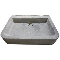 19th Century Antique Bluestone Sink