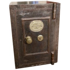 19th Century Antique English Safe