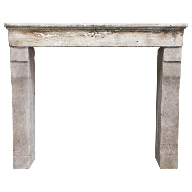 19th Century Antique Fireplace in Campagnarde Style For Sale