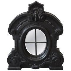 19th Century Antique French Cast Iron Dormer