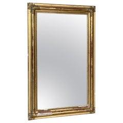 19th Century, Antique French Gilt Mirror