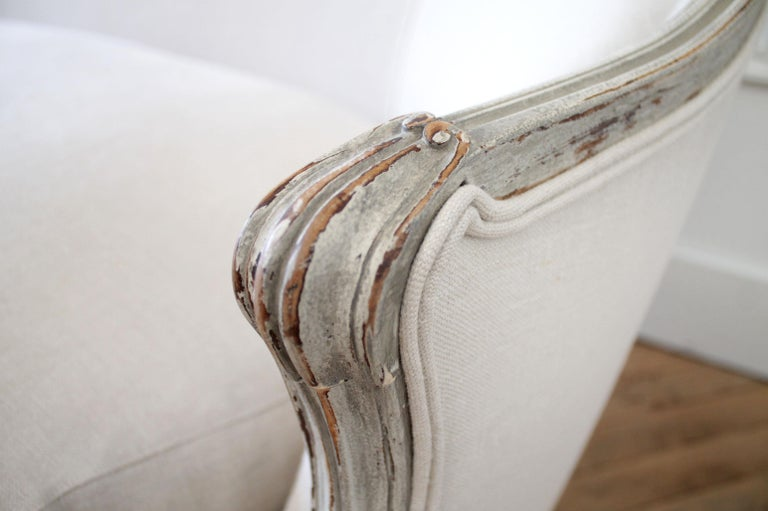 19th Century Antique French Louis XV Style Sofa 5