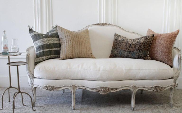 19th Century Antique French Louis XV Style Sofa 6