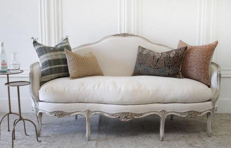 19th Century Antique French Louis XV Style Sofa 7