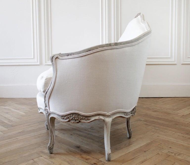 European 19th Century Antique French Louis XV Style Sofa