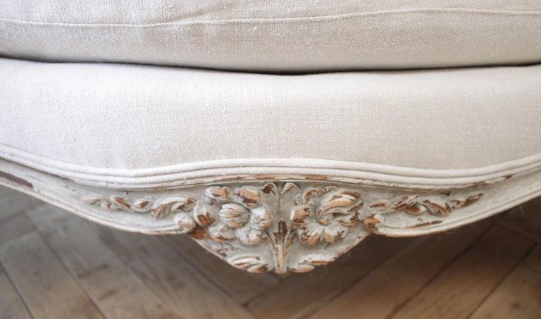 19th Century Antique French Louis XV Style Sofa 2
