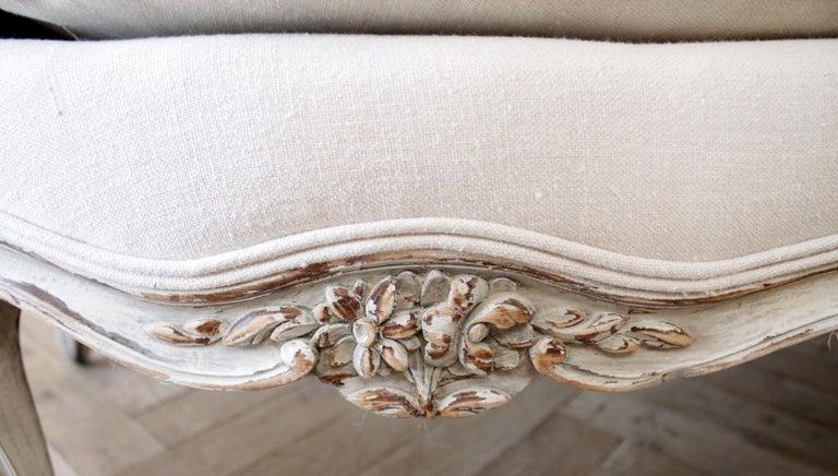 19th Century Antique French Louis XV Style Sofa 3