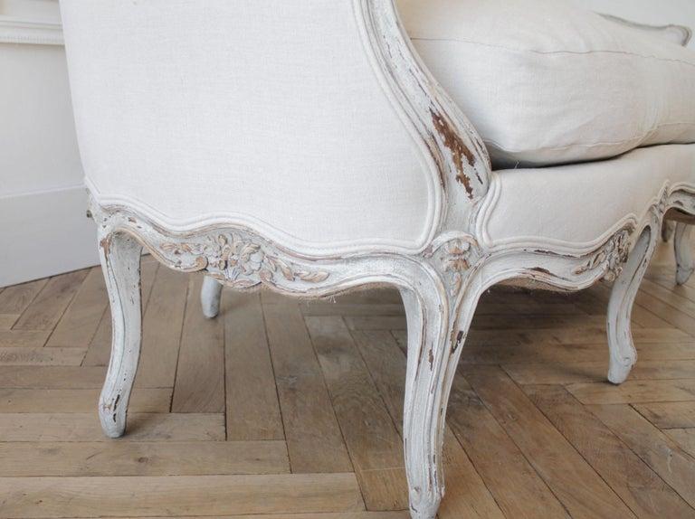 19th Century Antique French Louis XV Style Sofa 4