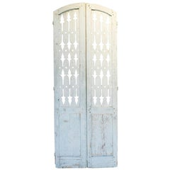 19th Century Antique French Shutter Doors