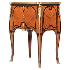 19th Century Antique French Tulipwood Commode