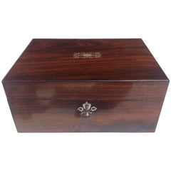 19th Century Antique Games Box / Playing Card Box