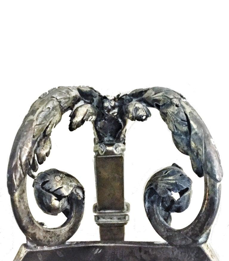 Antique German Neo-Baroque Silver Wine Jug, 19th Century For Sale 2