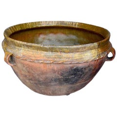 19th Century Antique Guatemalan Large Ceramic Pot/Planter