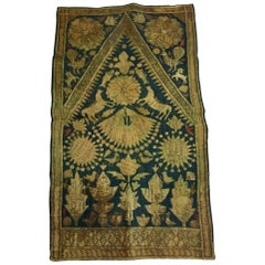19th Century Moorish Islamic Ottoman Empire Textile Metallic Embroidered